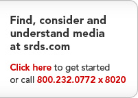 Find, Consider and Understand Media at srds.com