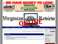 Virginian Review site image from SRDS.com